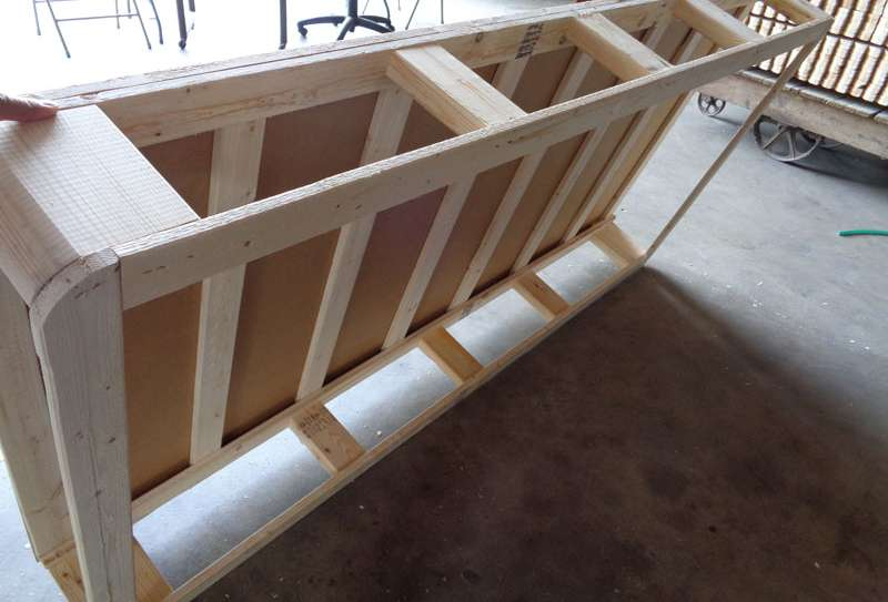 A Single Bed Frame