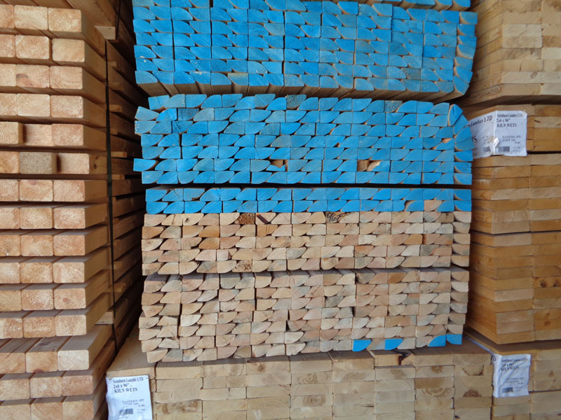 Stack of Building Material